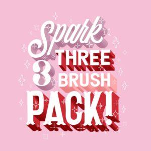 procreate spark brush pack learn lettering